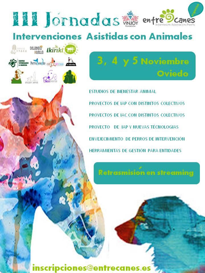 Empezamos noviembre Entrecanes: III Jornadas IAA.