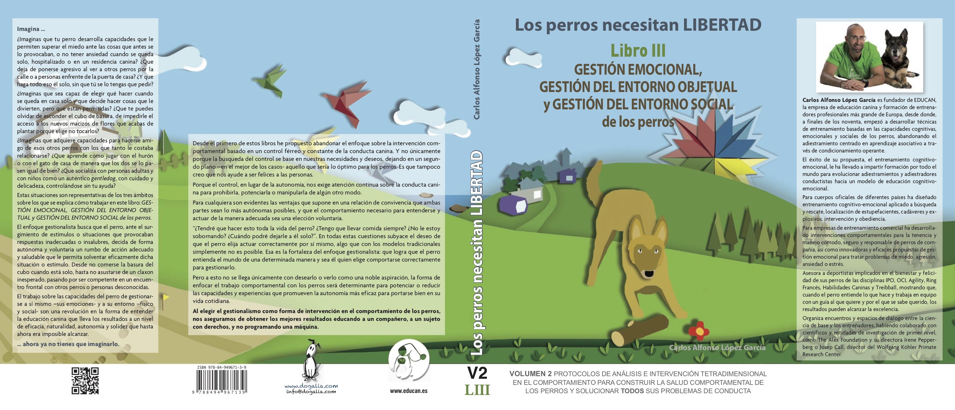 aa780538dd81 Los perros necesitan LIBERTAD. Libro III GESTIÓN EMOCIONAL