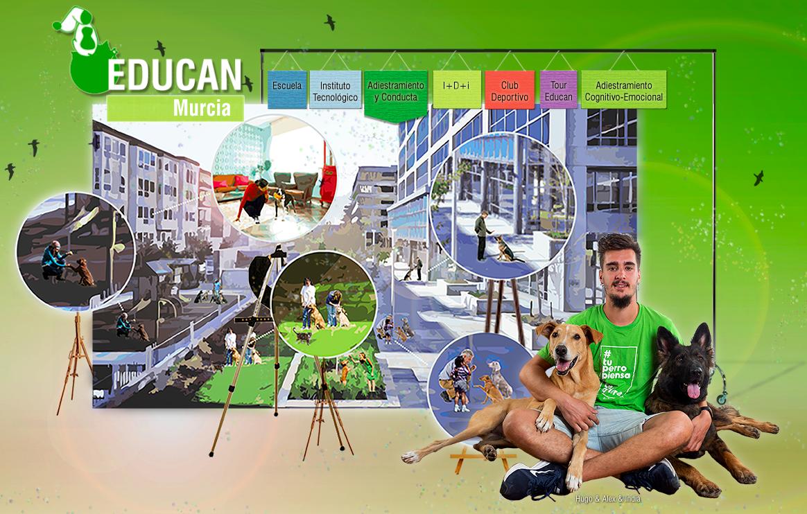 Murcia se tiñe de verde, EDUCAN en Murcia