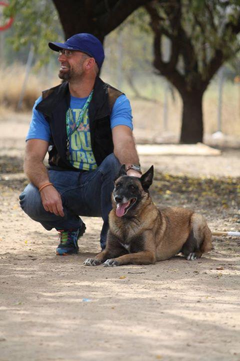 Carlos Alfonso López con Zedida de la Serralada, Cata.