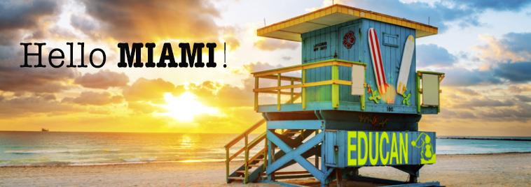 Iniciamos nuestra implantación en EE.UU. desde Miami. Mola.