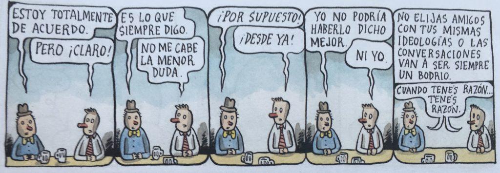 Liniers siempre lo ha dicho todo antes, mejor y con más ternura.