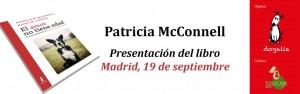 Patricia McConnell presenta su libro en Madrid, en el hotel Barceló Castellana Norte