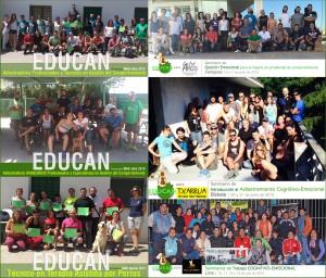 Fotos fin de curso/seminarios EDUCAN: 3er trimestre 2015