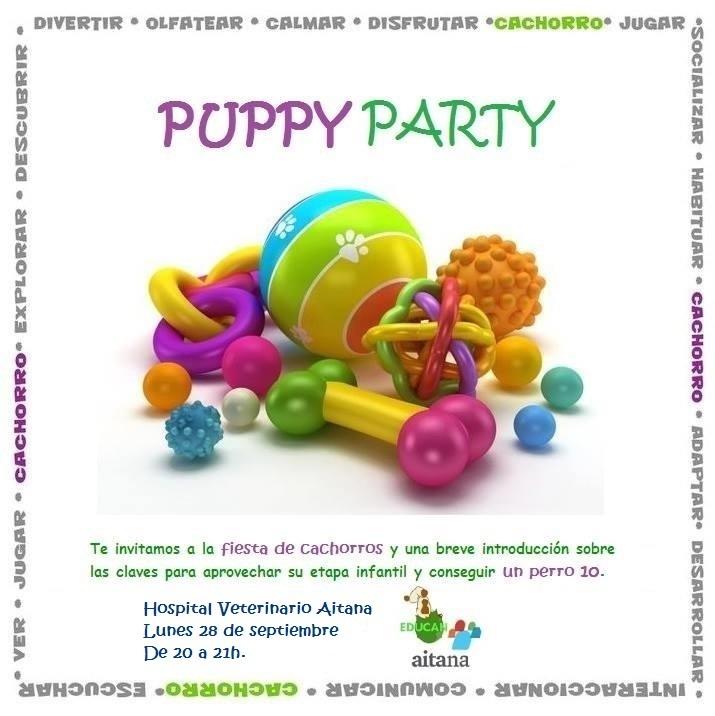 ¡Puppy Party!|Valencia 28 sept 2015