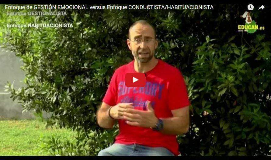 Enfoque de GESTIÓN EMOCIONAL versus enfoque CONDUCTISTA/HABITUACIONISTA
